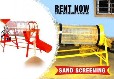 Sand Screening Machi...